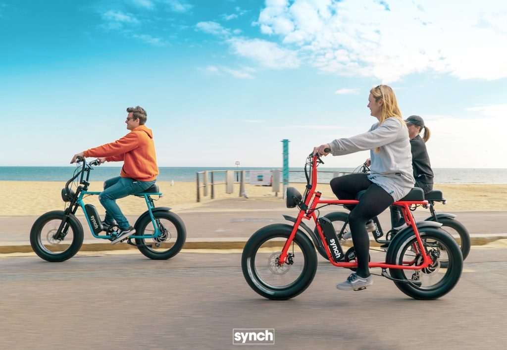 Synch Super Monkey Electric bike Beach